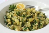 Салат из цуккини с лимоном и орегано