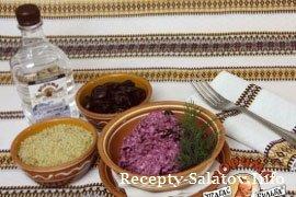 Салат из свеклы и черносливом