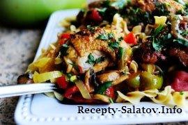Бедрышки по-итальянски - пошаговый рецепт