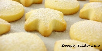 Печенье песочное «Колечки» видео рецепт
