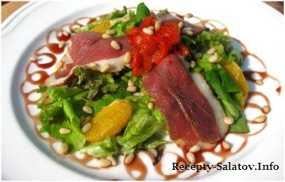 Салат с уткой / Duck Salad