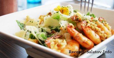 Соус к креветкам салату Цезарь рецепт