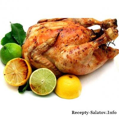 Курица гриль с беконом - пошаговый рецепт