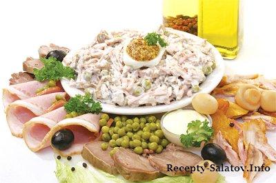 Сочный свежий и очень вкусный салат
