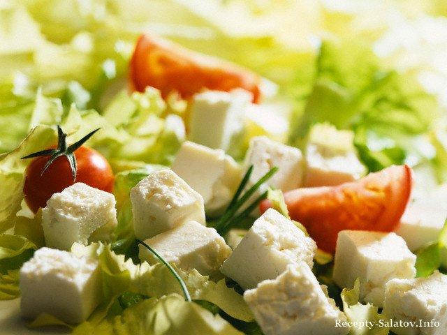 Салат «Цезарь с сыром Фета»: рецепт 5