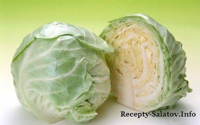 Сборник простых рецептов салатов из капусты