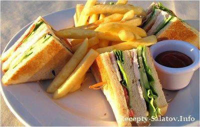 Клаб сэндвич рецепт