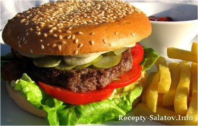 Бургер с бараниной · Lamb Burger