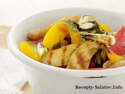 Гриль-салат картофельный  со сладким перцем