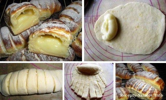 рецепт булочки крем паризьен