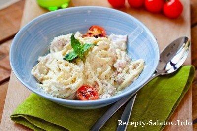 Рецепт от шеф повара Итальянская паста