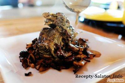 Праздничное блюдо ребрышки с вином и сливками - пошаговый рецепт