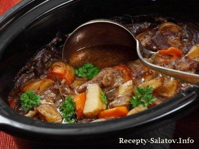 Гороховый суп с бараниной ресторанные блюда