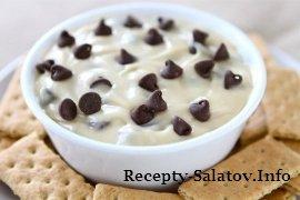 Восхитительный сливочный шоколадный десерт