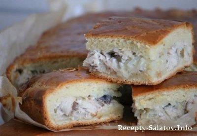 Фирменное блюдо - Пирог со скумбрии пальчики оближишь