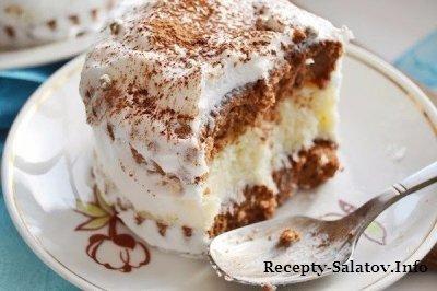 Вкусное нежное пирожные