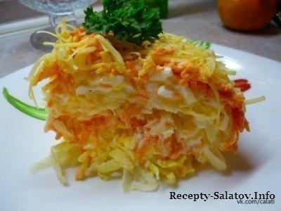Вкусный салат «Французский»