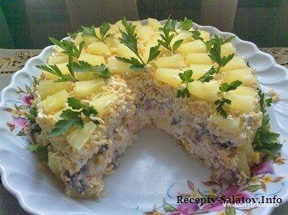 Торт-салат «Чудо-слойка»