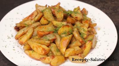 Видео рецепт вкуснейшего картофеля по-деревенски