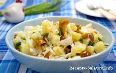 Салат быстрый и вкусный