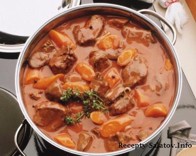 ТОП–5 рецептов тушеного мяса