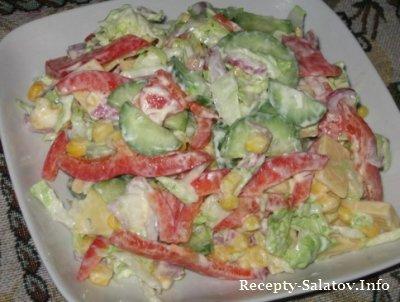 Овощной салат Фантазия