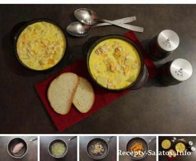 Сливочный сырный суп