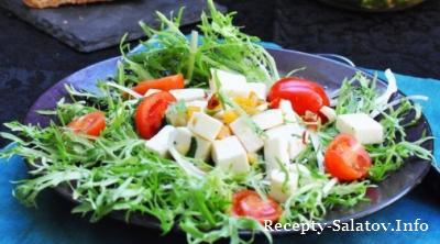 Овощной салат Фета в остром маринаде