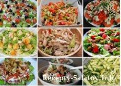 Топ 5 сказочных домашних салатов с курицей